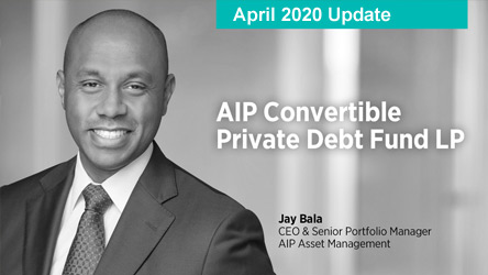 April 2020 Update – Jay Bala